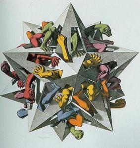 GravitationMC Escher, 1952